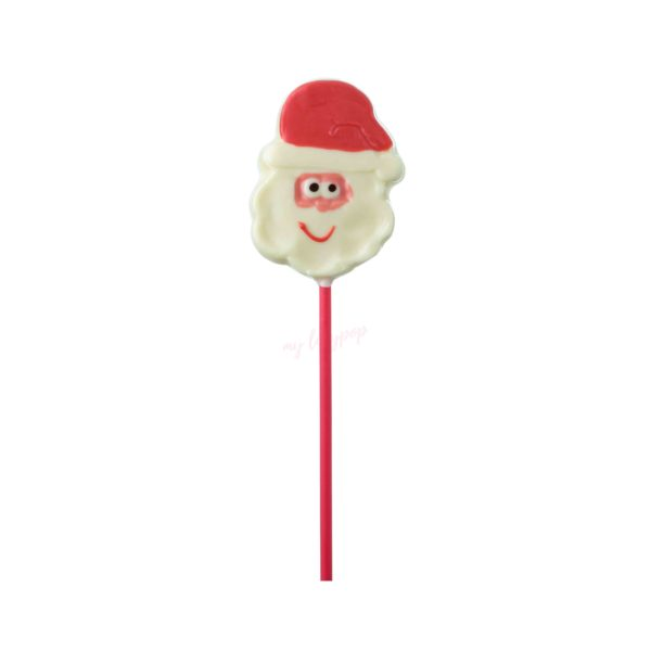 Piruleta de chocolate Papa Noel