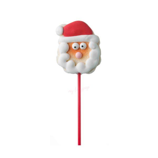 Piruleta de gominola Papa Noel